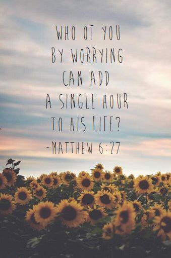 Matthew6-27