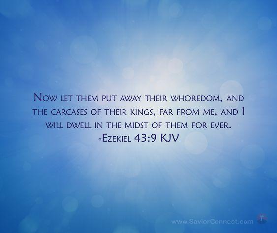 Ezekiel43-9